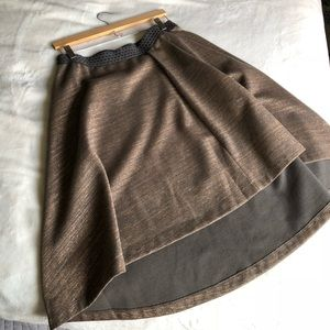 {Anthropologie} High-Low Skirt